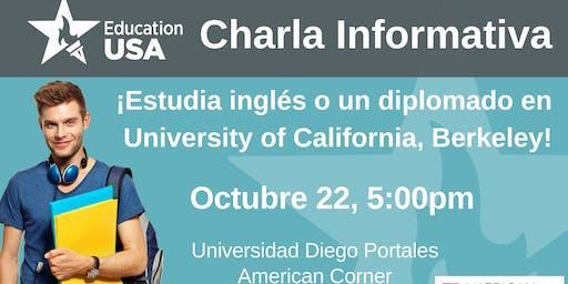 Charla UC Berkeley: Diplomados e inglés