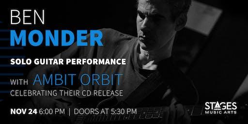 Ben Monder Solo Performance / Ambit Orbit Album-Release Party