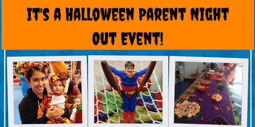 The Kids Gym Halloween Parent Night Out