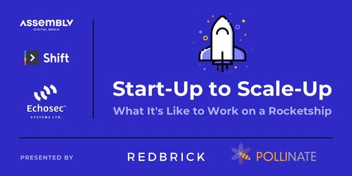 From Start-up to Scale-up: What it's Like to Work on a Rocketship