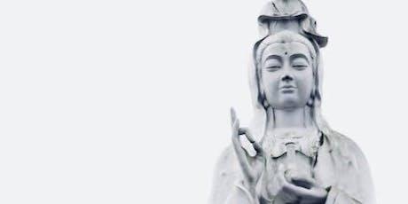Red Lotus Life Full Moon Kuan Yin Sitting Qigong & Tea tickets