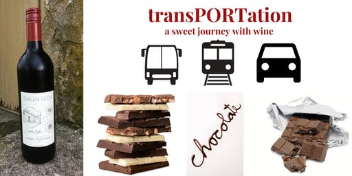 TransPORTation - A Sweet Red Wine Journey with Chocolate