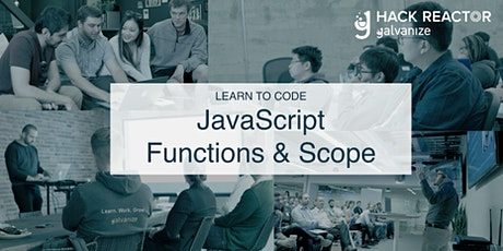 Learn to Code: JavaScript Functions & Scopes tickets
