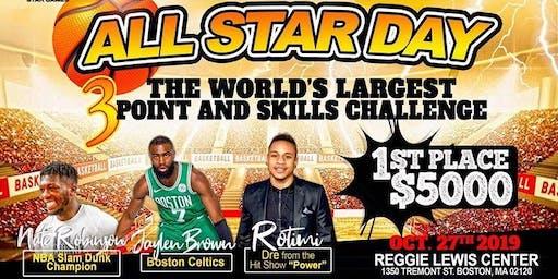 Rotimi, Jaylen Brown, Nate Robinson: Basketball Star Games - GA