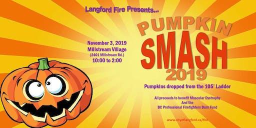 Pumpkin Smash at Millstream Village