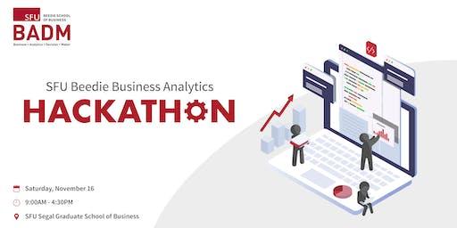 SFU Beedie Business Analytics Hackathon 2019