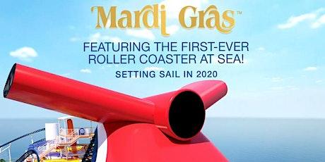 Carnival Mardi Gras Cruise  tickets