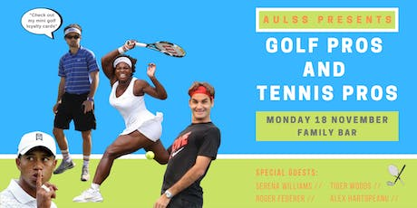 """AULSS Presents: """"Golf Pros and Tennis Pros"""" Stein tickets"""