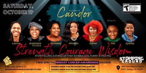 Women of Candor: Strength, Courage, and Wisdom