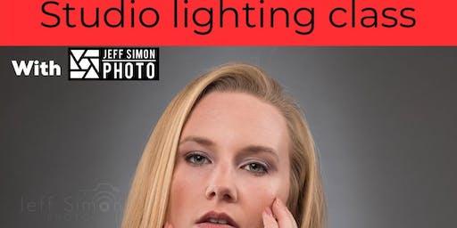 Studio Lighting Class with Jeff Simon Photo