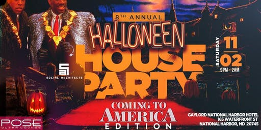 "8TH ANNUAL HALLOWEEN HOUSE PARTY ""COMING TO AMERICA EDITION"""