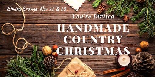 Handmade Country Christmas Bazaar