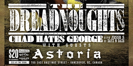 """The Dreadnoughts """"Into The North"""" Album Release Show! tickets"""
