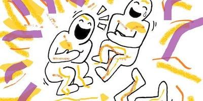 ICEBREAKER GAMES! +YMCA Yoga + BODYWORK & ACUPRESSURE POINT Exchange MIXER