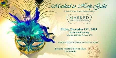 Masked to Help Gala 2019 tickets
