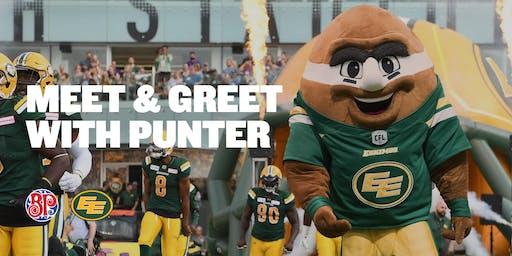 Meet & Greet with Punter