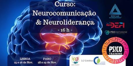 Curso: Neurocomunicação & Neuroliderança bilhetes