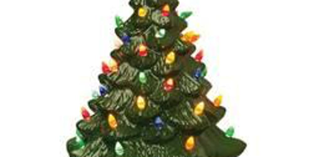 Christmas Tree Picture.Christmas Tree Paint Two Part Class