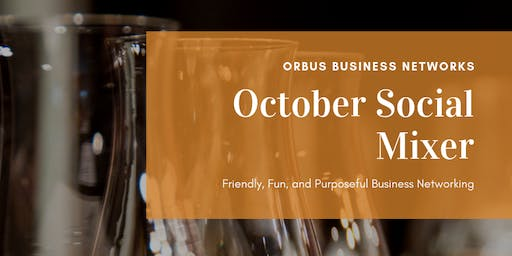 Orbus October Happy Hour Social Mixer