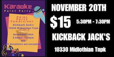 Karaoke Paint Party (Kickback Jack's Midlo)