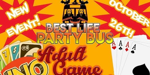 Best Life Party Bus Adult Game Night