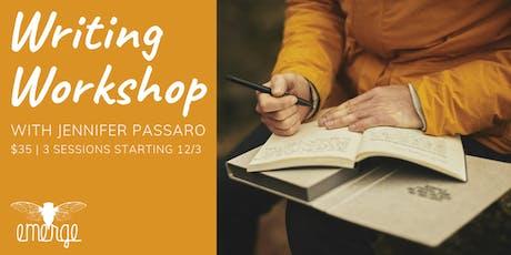Writing Workshop with Jennifer Passaro tickets