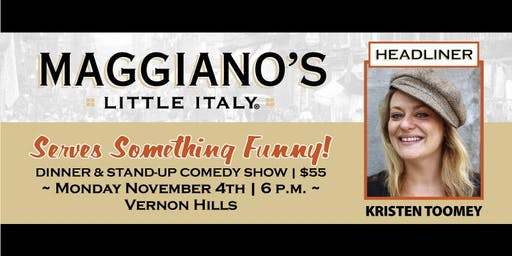 Maggiano's Serves Something Funny!-November Edition