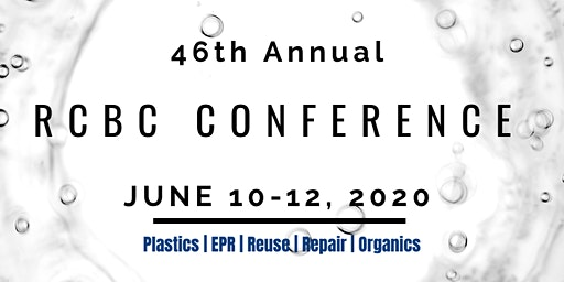 RCBC 2020: 46th Conference on Circular Economy
