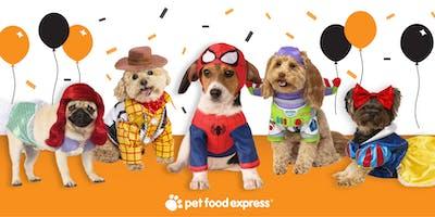 Pet Food Express Novato Halloween Paw-ty
