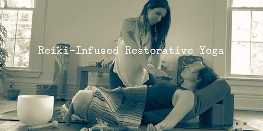 Reiki~Infused Restorative Yoga