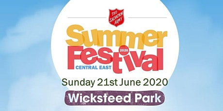 The Salvation Army - Central East Summer Festival tickets