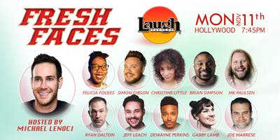 FRESH FACES - showcasing the best upcoming talent in Standup Comedy!