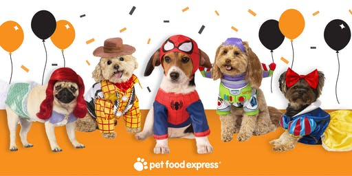 Pet Food Express Napa Halloween Paw-ty