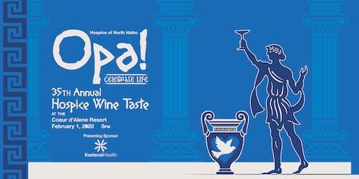 Hospice Wine Taste 2020
