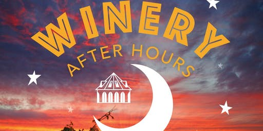 Winery After Hours Featuring Addam Chavarria