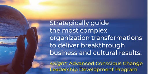 Webinar: Discover 4Sight: Advanced Conscious Change Leadership Development (Orlando)
