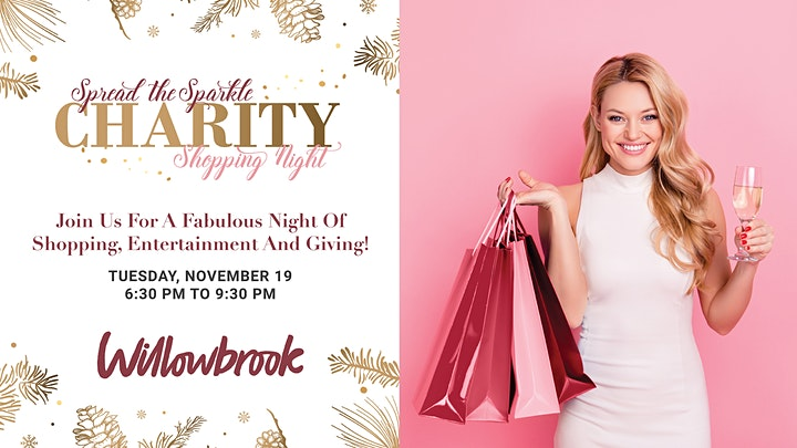 Spread The Sparkle - Charity Shopping Night image