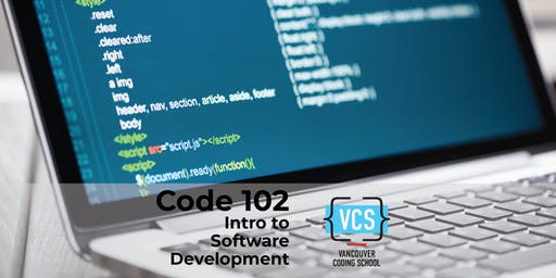 Code 102: Intro to Software Development