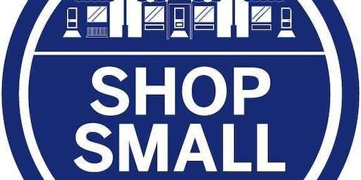 Shop Small Saturday November 30th 2019