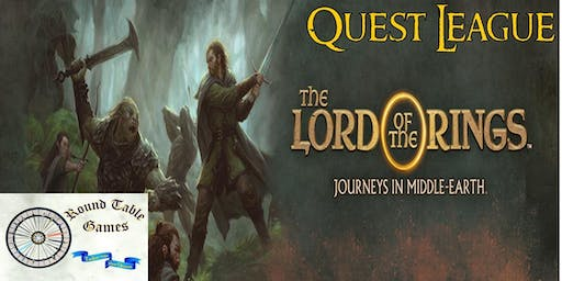 Round Table Games' The Lord of the Rings: Journeys in Middle-earth Quest League