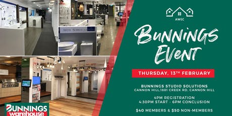 Awesome Women in Construciton (AWIC) - Networking at Bunnings tickets