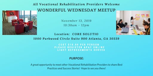 Wonderful Wednesday for GVRA Providers