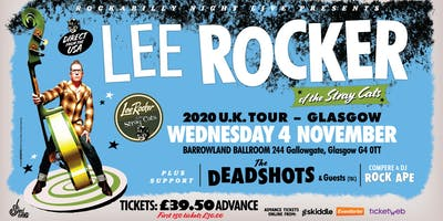 Lee Rocker (of The Stray Cats) + Support From The Deadshots & Guests (tbc)