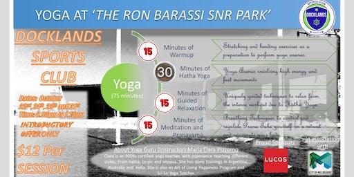 Yoga at Docklands Sports Club