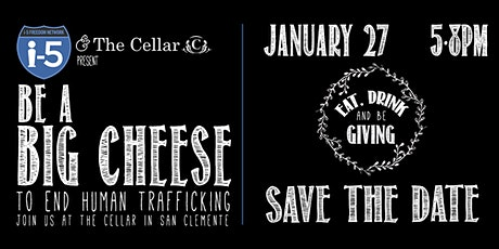 Be a Big Cheese 4 the i-5! Help fight trafficking and exploitation tickets