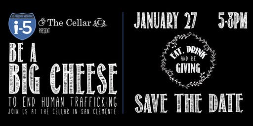 Be a Big Cheese 4! Help fight trafficking and exploitation