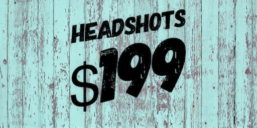 $199 HEADSHOTS