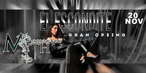 Latin Ladies Night (Escondite) At Myth Nightclub, Wednesday 11.20.19