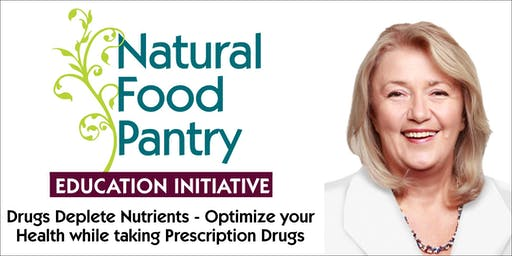 Drugs Deplete Nutrients - Optimize your Health While Taking Prescription Meds