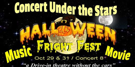 """Halloween Fright Fest Concert Under the Stars"" Kelli Grant Queen of Swing"